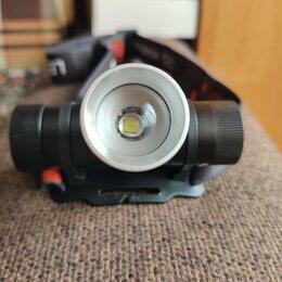 Фонари - Налобный фонарь с usb зарядкой, 0