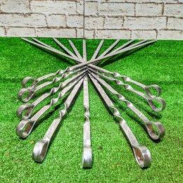 Шампуры - Шампуры 50 см с металлической ручкой, 0
