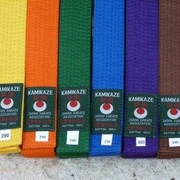 Аксессуары и принадлежности - KAMIKAZE Оранжевый пояс (карате) длина 250 см, 0