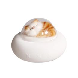 Ночники и декоративные светильники - Ночник силиконовый Pet Spaceship Котик, 0