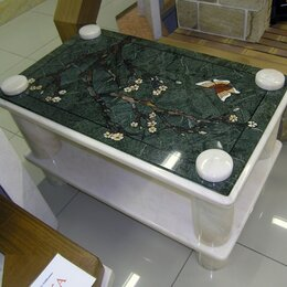 Столы - Стол мраморный Sakura (Crumar), 0