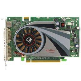 Видеокарты - Видеокарта PCI-E 256Mb GeForce Fx7600Gt Leadtek , 0