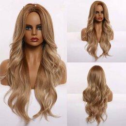 Аксессуары для волос - Парик волнистый длинный, 0