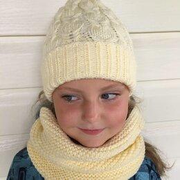 Головные уборы - Детская шапка и снуд , 0