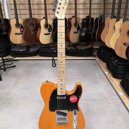 Электрогитары и бас-гитары - Новая электрогитара Fender Squier Telecaster, 0
