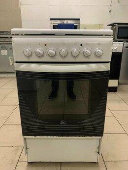 Плиты и варочные панели - Электрическая плита б/у Indesit K 300 E(W), 0