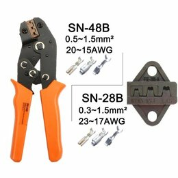 Товары для электромонтажа - Кримпер обжимка SN-28B SN-48B дюпон автоклеммы, 0