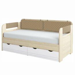 Кровати - Кровать-Тахта Стиль.Кофе (800.4) + Комплект…, 0
