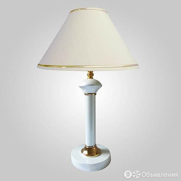 Настольная лампа Eurosvet Lorenzo 60019/1 глянцевый белый по цене 2568₽ - Настольные лампы и светильники, фото 0