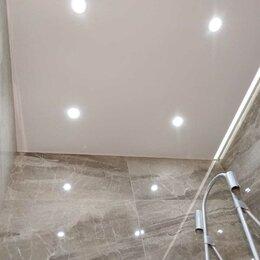Потолки и комплектующие - Натяжной потолок матовый, 0