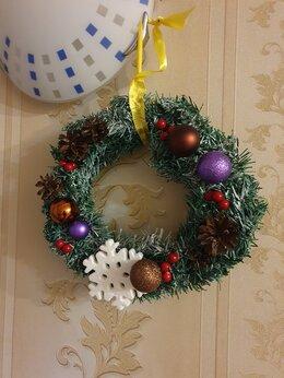 Новогодний декор и аксессуары - Рождественский венок, 0