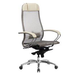 Компьютерные кресла - Компьютерное кресло Samurai S-1.04 (Бежевый), 0