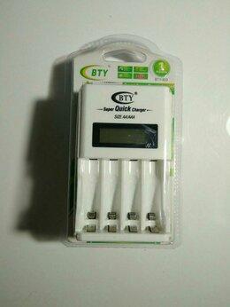 Зарядные устройства для стандартных аккумуляторов - Зарядное устройство AA AAA с ЖК 8 в 1-м BTY N-903, 0
