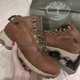 Ботинки - Ботинки Timberland Зимние. Кожа/Овчина, 0