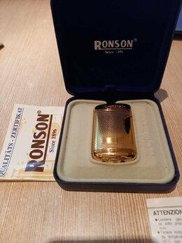 Пепельницы и зажигалки - Зажигалка Ronson comet, 0