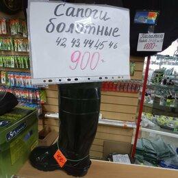 Одежда и обувь - сапоги болотные легкие размер 42-46 для рыбалки охоты работы, 0
