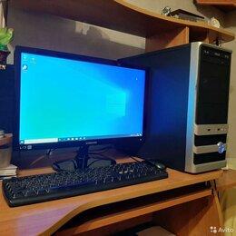 Настольные компьютеры - Компьютер (системный блок, клавиатура, мышь), 0