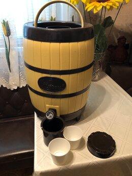 Термосы и термокружки - Бидон с краном для пива, кваса, морса и др…, 0