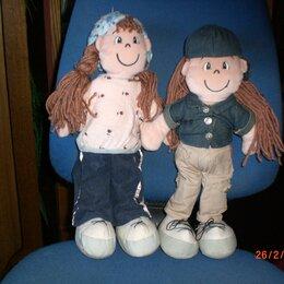 Мягкие игрушки - Мягкие игрушки - мальчик и девочка, 0