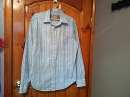 Рубашки - 2 рубашки мужские импортные х/б, размер L и XS, 0