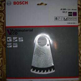 Для дисковых пил - Диск пильный bosch eco multi material 190 новый, 0