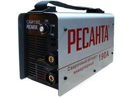 Сварочные аппараты - Инверторный сварочный апарат Ресанта саи 190, 0