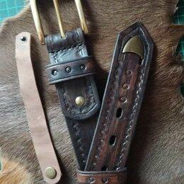 Ремни и пояса - Ремень кожаный ручной работы, 0