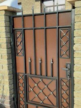 Заборы и ворота - Калитка холодная ковка из проф трубы, 0