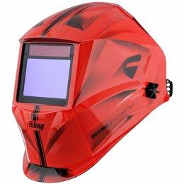 Маски и очки - Сварочная маска FUBAG OPTIMA 4-13 Visor Red…, 0