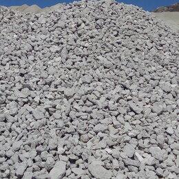 Строительные смеси и сыпучие материалы - Щебень с доставкой от 1 куба (1222), 0