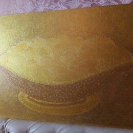 """Картины, постеры, гобелены, панно - Картина """"Груши в золоте""""(двухсторонняя), 0"""