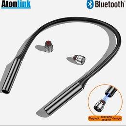 Наушники и Bluetooth-гарнитуры - Беспроводные наушники Шейный обод G30, 0