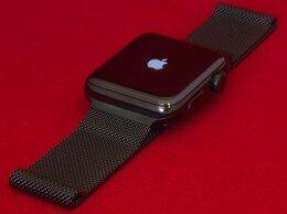Умные часы и браслеты - Apple Watch 2 42mm Stainless Steel Black…, 0