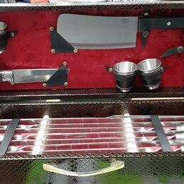 Аксессуары для грилей и мангалов - Набор шампуров подарочный, 0