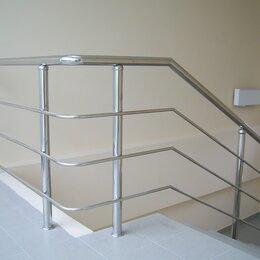 Лестницы и элементы лестниц - Перила из нержавеющей стали в Щёлково фрязино Балашихе, 0