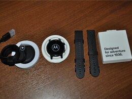 Умные часы и браслеты - Motorola Moto 360 3 Phantom Black (новые, оем), 0