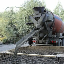 Строительные смеси и сыпучие материалы - Бетон 200, 300, 400 Доставка Нижнекамск, 0