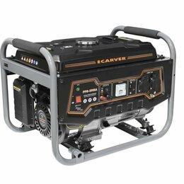 Электрогенераторы и станции - Бензиновый генератор CARVER PPG-3900А , 0