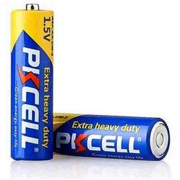 Батарейки - Солевой элемент питания PKCELL R6P-4S тип - AA  пл, 0