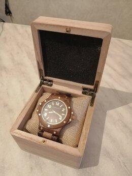 Наручные часы - Часы эксклюзивные деревянные, 0