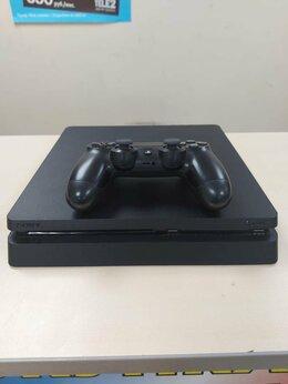 Игровые приставки - Игровая приставка Sony PS4 Slim , 0