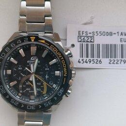 Наручные часы - Часы Casio Edifice EFS-S550DB Solar (Япония), 0
