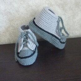Домашняя обувь - пинетки-кеды, 0