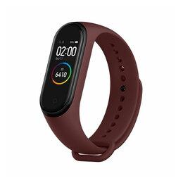 Наручные часы - Умный браслет Xiaomi Mi Band 4 (вишневый), 0