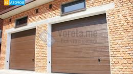 Заборы и ворота - Подъёмно-секционные ворота для гаража, 0