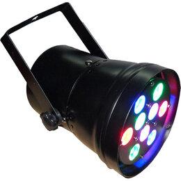 Световое и сценическое оборудование - LEXOR LC20406 LED PAR36 12x1W RGB прожектор, 0