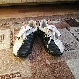 Обувь для спорта - Бутсы кожаные, 0