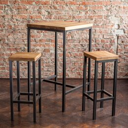 Столы и столики - Стол и стулья лофт, 0