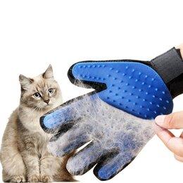 Косметика и гигиенические средства - Силиконовая перчатка для кошек , 0