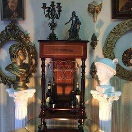 Столы и столики - Барная стойка для вина на колесиках. Винтаж. 90х50, 0